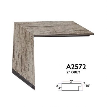 "2"" grey A2572"
