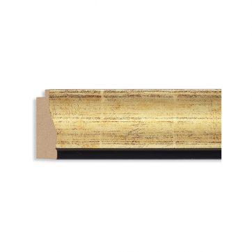 1801 2 5/8 gold w/black