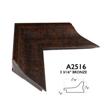 3 3/16 bronze scoop A2516
