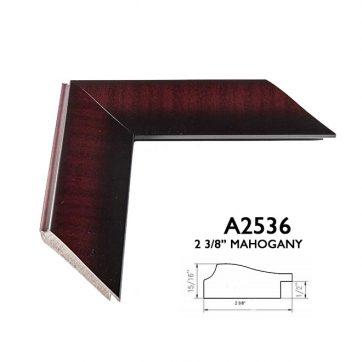 """2 3/8"""" shaded mahogany A2536"""
