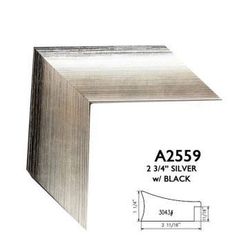 "2 3/4"" silver A2559"
