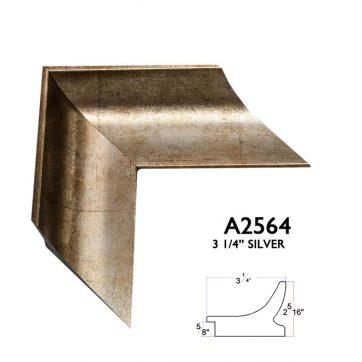 "3 1/4"" silver A2564"