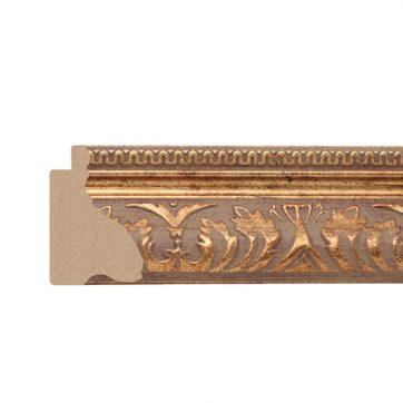 461-1 1 3/4 antique gold