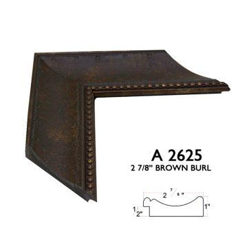 "2 7/8"" brown A2625"