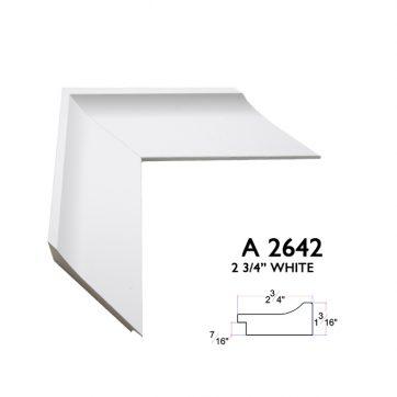 2 3/4 white 2642